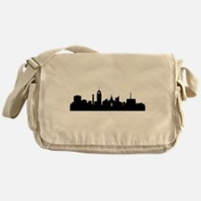 Lansing Cityscape Skyline Messenger Bag