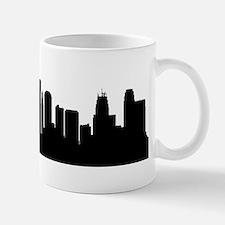 Kansas City Cityscape Skyline Mugs