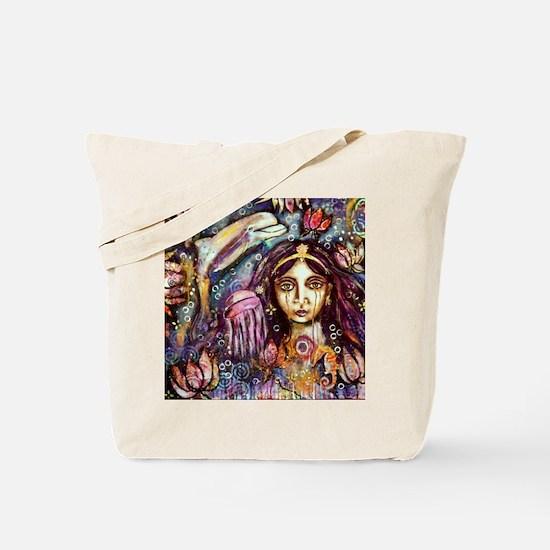 Goddess Yemanya Tote Bag