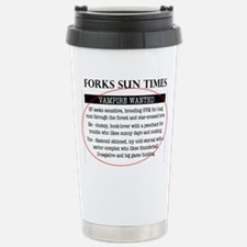 Cute Edward cullen Travel Mug