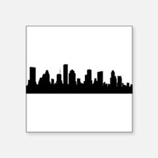 Houston Cityscape Skyline Sticker