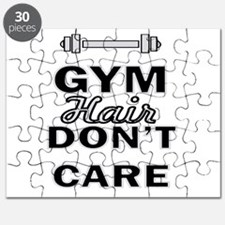 Gym Hair Don't Care Puzzle