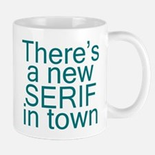 Font Humor Serif Mug