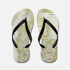 Funny Location Flip Flops
