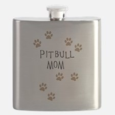 Pitbull Mom Flask