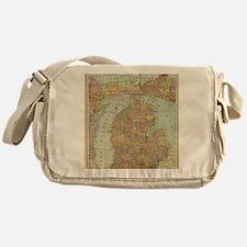Cute Michigan Messenger Bag