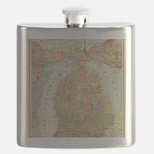Funny Michigan Flask