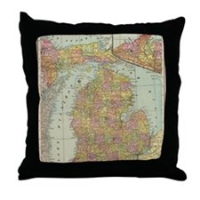 Cute I vacation Throw Pillow