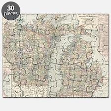 Unique Great lakes Puzzle