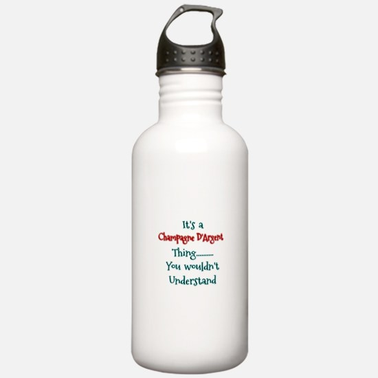 Champagne THing Water Bottle