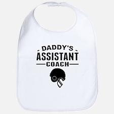 Daddys Assistant Football Coach Bib