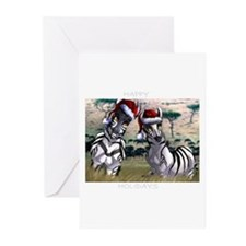 Funny Zebras Greeting Cards (Pk of 20)