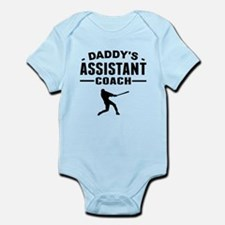 Daddys Assistant Baseball Coach Body Suit