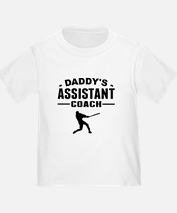Daddys Assistant Baseball Coach T-Shirt