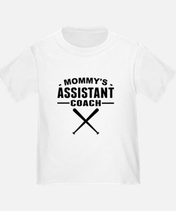Mommys Assistant Softball Coach T-Shirt