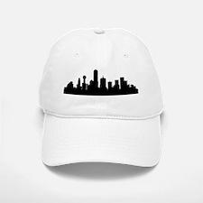 Dallas Cityscape Skyline Baseball Baseball Baseball Cap