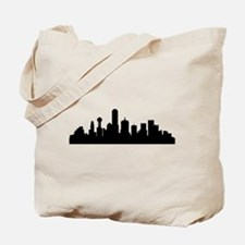 Dallas Cityscape Skyline Tote Bag