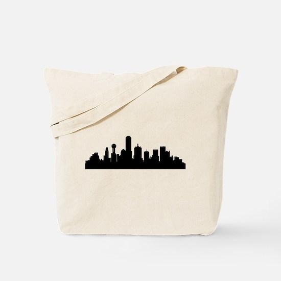 Dallas Cityscape Skyline Tote Bag