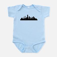 Dallas Cityscape Skyline Body Suit