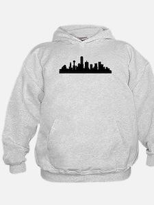 Dallas Cityscape Skyline Hoodie