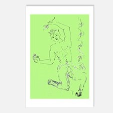 Cute Faun Postcards (Package of 8)