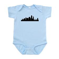 Corpus Christi Cityscape Skyline Body Suit