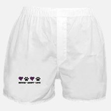 Cute Rescue dog Boxer Shorts