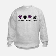 Cute Animal adoption Sweatshirt