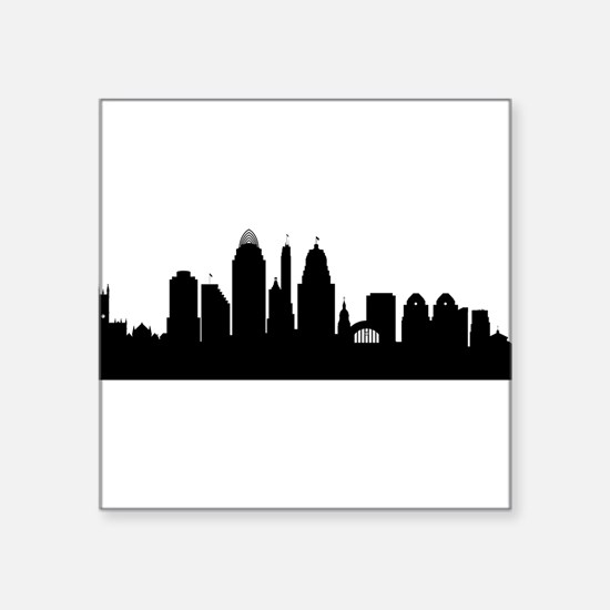 Cincinnati Cityscape Skyline Sticker