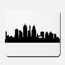 Cincinnati Cityscape Skyline Mousepad