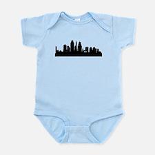 Cincinnati Cityscape Skyline Body Suit