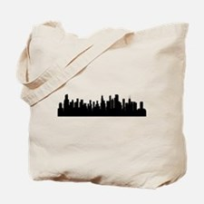 Chicago Cityscape Skyline Tote Bag