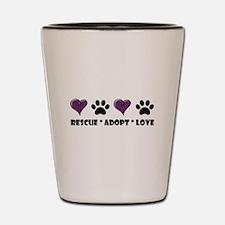 Cute Animal rescue Shot Glass