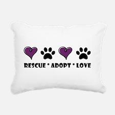 Cute Rescue Rectangular Canvas Pillow