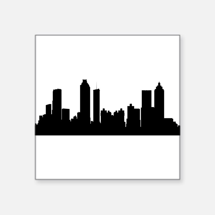 Atlanta Cityscape Skyline Sticker