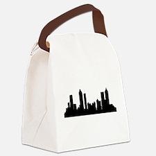 Atlanta Cityscape Skyline Canvas Lunch Bag