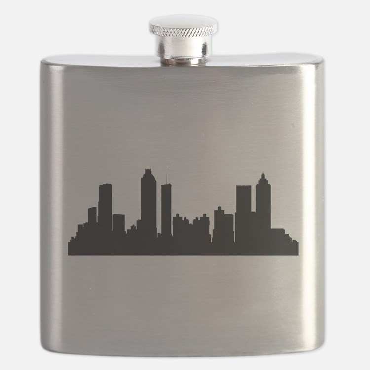 Atlanta Cityscape Skyline Flask