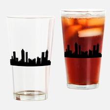 Atlanta Cityscape Skyline Drinking Glass