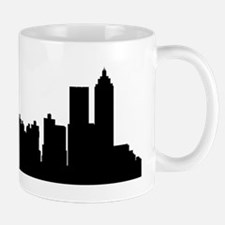 Atlanta Cityscape Skyline Mugs