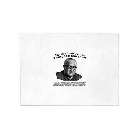 Thurgood Marshall: Equality 5u0027x7u0027Area Rug