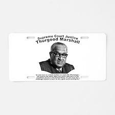 Thurgood Marshall: Equality Aluminum License Plate