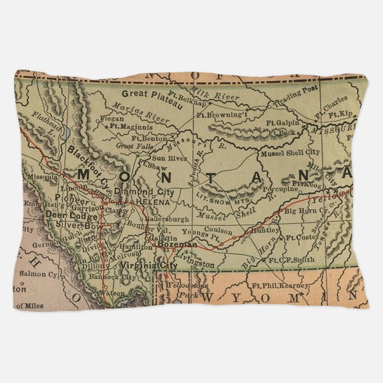 Cute Montana Pillow Case