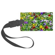 More Pansies Luggage Tag