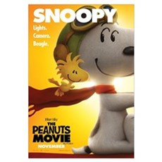 The Peanuts Movie: Snoopy Poster Wall Art Canvas Art