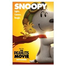 The Peanuts Movie: Snoopy Poster Wall Art Poster