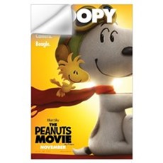 The Peanuts Movie: Snoopy Poster Wall Art Wall Decal