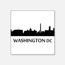 Washington DC Cityscape Skyline Sticker