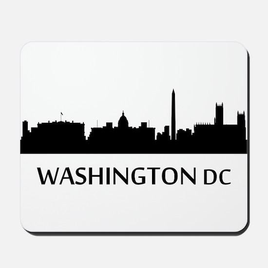 Washington DC Cityscape Skyline Mousepad