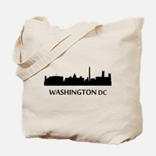 Washington DC Cityscape Skyline Tote Bag