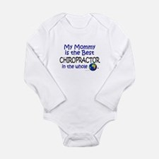 Cute The world%27s greatest chiropractors office Long Sleeve Infant Bodysuit